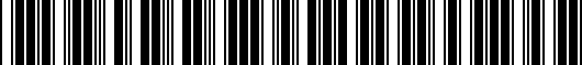 Barcode for 1K0071498AX1