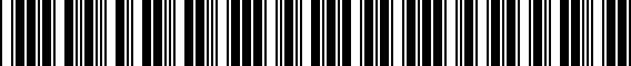 Barcode for 5K0071498C88Z