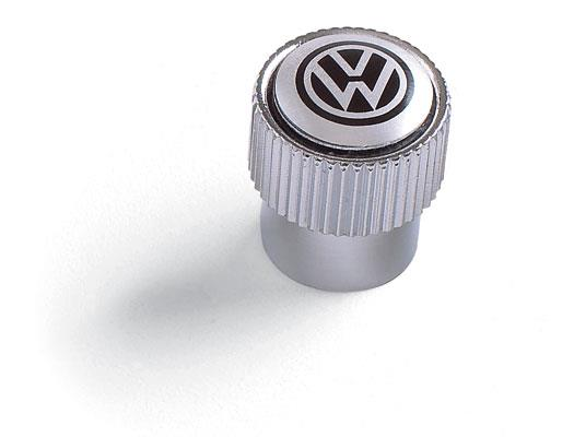 Diagram Valve Stem Caps - Black on Silver (ZVW355005A) for your Volkswagen Golf