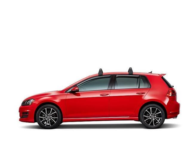Diagram Base Carrier Bars  (2 door) (5G3071126) for your Volkswagen Golf
